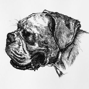 boxer_ink drawing