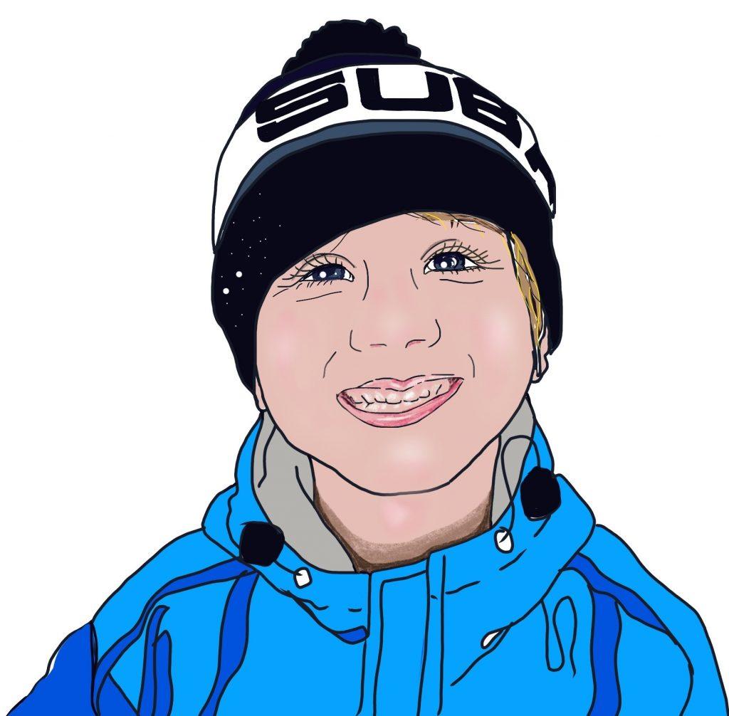 Digital children's portrait